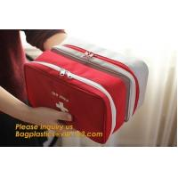Buy cheap earthquake survival kit personal outdoor safety emergency car first aid bag,First Aid backpack Plastic Hard Red Case 211 product