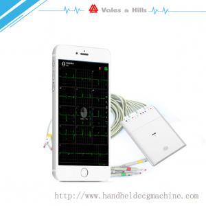 China New Handheld ECG Buletooth WIFI ECG Machine For IOS Work With IPad wholesale
