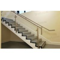 Buy cheap Side Mounted Stainless Steel Post Glass Railing For Staircase Railing product