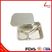 Buy cheap 3 Compartment Foil Food Container/Tary/Plate/Pan from wholesalers