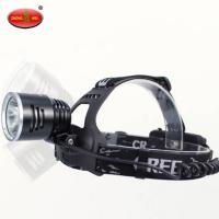 Buy cheap High Efficiency Rescue Equipment H1L LED Rechargeable Miners Headlamp product