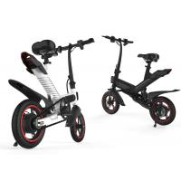 Buy cheap Long Range Folding Electric Bike  , Electric Tricycle For Adults Aluminum Alloy Design product
