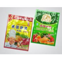 Buy cheap Recycled Flexible Plastic Food Packaging Bags Chicken Powder Pouch , Gravure Printing product