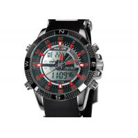 Buy cheap 47 mm Chronograph Mens Army Watches Black Dial , Japan Quartz Watches product
