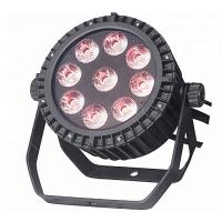 Buy cheap Best Seller 9x18w RGBWA UV IP65 Stage Outdoor Flat LED Par Can Light Price product