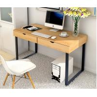 Buy cheap Commercial Furniture Home Office Computer Desk With Hutch Chrome Printing product