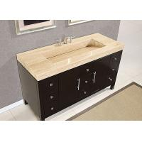 Eased Edges Natural Marble SBath Vanity Tops With Cut Out Polished