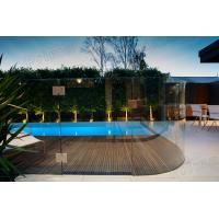 Buy cheap Impressive and high quality tempered glass railing for swimming pool product