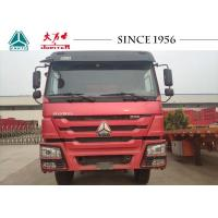 China Durable HOWO 6X4 Tipper Truck With 336 HP Engine For Equipment Rental on sale