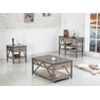 Buy cheap GOOD QUANLITY WOOD AND IRON COFFEE TABLE product