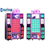 Buy cheap Respective Lighting Lipstick Vending Machine Fully Transparent Display Reasonable Grid product