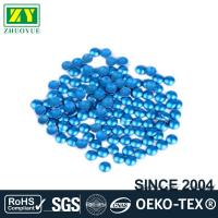 Buy cheap Dresses Blue Dome Studs , Shiny Fixing Press Studs Environmentally Friendly product