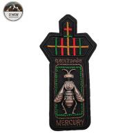 Buy cheap Bumble Bee 3D Custom Made Embroidered Patches Simple Style For Uniform product