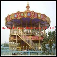 Buy cheap double deck carousel two floor merry go round for sale product