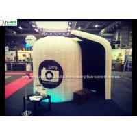 China Led Tube Light Inflatable Photo Booth Enclosure For Wedding Parties on sale