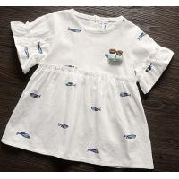 Buy cheap 100%cotton voile baby short sleeve dress product