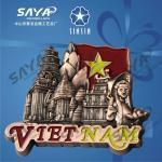 Buy cheap Vietnam metal souvenir fridge magnet product