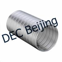 Buy cheap Master flow Semi Rigid Flexible Duct 5 inch 25ft aluminum flexible round duct venting tube product