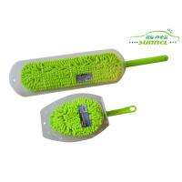 China Custom Changeable Head Chenille Car Washing Brush with PP handle on sale