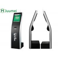 Buy cheap Self Service Queue Management Kiosk With 80mm Thermal Ticket Printer product