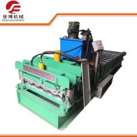 Buy cheap Automatic Zinc Aluminium Glazed Tile Roof Sheet Roll Forming Machine 840 product
