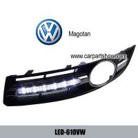 China Volkswagen VW Magotan DRL LED Daytime Running Lights Car headlight parts Fog lamp cover LED-610VW wholesale