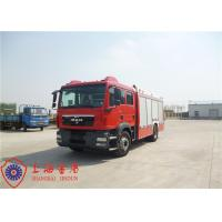 China Electronic Speed Limit CAFS Fire Truck on sale