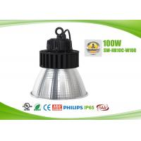 Buy cheap IP65 145lm / W Energy Efficient High Bay Lighting Fixtures 100 Watt , 2700-6500K Color Temperature product