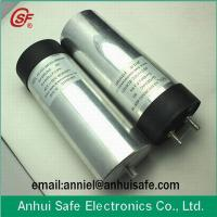 Buy cheap cylinder DC link capacitor for solar power wind power 500UF 1000VDC from wholesalers