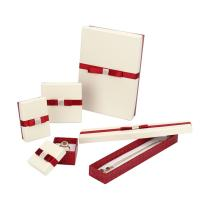 Buy cheap Luxury Packing Fancy Jewelry Box With Bowknot Customized PU Leather product