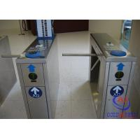 Buy cheap Ticket tripod turnstile flow control passing  with hs code and FRID card for scenic spot product