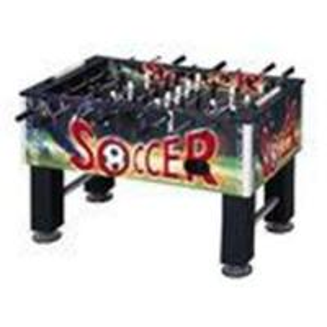China Forces de défense principale de coutume avec la table du football de foosball de PVC wholesale