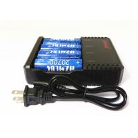 Buy cheap E Cigarette Universal Li Ion Battery Charger US Plug For 4 * 20700 Battery from wholesalers