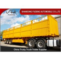 Buy cheap 3 Axles Side Wall Semi Trailer 60 Ton Box Semi Trailer With 16 T Or 18 T axle product