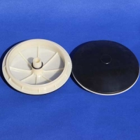 Buy cheap EPDM /Silicone Fine Bubble Membrane Diffusers Highly Tear Resistant Rubber Air Diffuser product