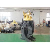 Buy cheap CE Approved Rotary Hydraulic Wood Grapple For Hitachi ZX230 ZX210 Excavator product