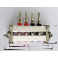 Buy cheap Aluminium meter wiring device(quick connector),Single-Phase,4 Pins,RED-BLACK, from wholesalers