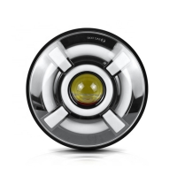 Buy cheap 40W Vihicle Round  DRL 7 Inch Halo Fog Lights High Power product
