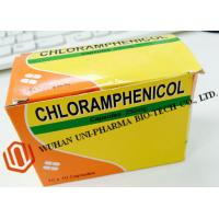 Buy cheap Chloramphenicol Capsules 250mg Finished Medicine , Organic Gelatin Capsules For Bacterial Infections product