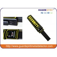 China LED lights alarm full body scanner / mini portable Handheld Metal Detector for security on sale