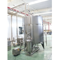 Buy cheap Juice Conditioning Line Hot Filling Fruit Juice Beverage Pre Processing Equipment product
