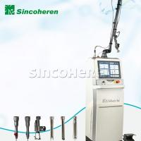 Buy cheap CO2 Fractional Laser Scar Removal Machine , RF Tube Beauty Care Machine product