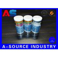China 10ml Printed Labels On A Roll Holographic Prescription Vial Label 4C Full Color wholesale