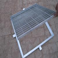 Buy cheap A Grade Steel Grating Drain Cover Hot Dipped Galvanized Q235 Material product