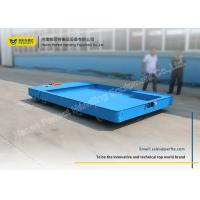 Buy cheap Flat Steel Battery Powered Cart Export  No Rail Vehicle With PLC Control product