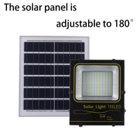 Buy cheap square Home garden LED solar projection lamp 7000K 2-14 hours 30-60W Light for 12-14 hours IP66 product