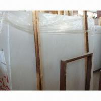 Buy cheap A Grade Large Slab Nature Stone Pure White Marble Tiles, Mosaic Size of 305x305mm product