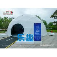 Buy cheap 20m Geodesic Dome Event Tent Steel Frame PVC Cover For Outdoor Event from wholesalers