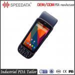 Buy cheap Portable Handheld RFID Reader Barcode Scanner / Card Reader / Printer / Fingerprint product