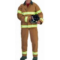 Buy cheap Nomex Light Weight Two Big Patch Pocket Fireman Turnout Gear Adjustable Braces from wholesalers